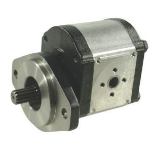 Casappa Pomp PLP30.61S0-04S5-LED/EB-N-FS - PLP3061S004S5 | 4-gats flens, DIN | 61,26 cc/omw | 190 bar p1 | 210 bar p2 | 220 bar p3 | 2500 Rpm omw./min. | 350 Rpm omw./min. | 131 mm | 131 mm | 51,5 mm | 51 mm | 40 mm