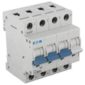Eaton Installatie-autom. 20A,3P+N,B - PLS6B203N