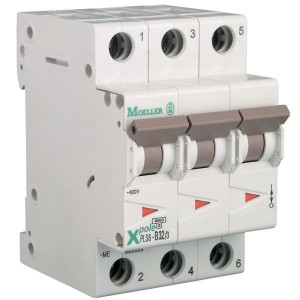 Eaton Installatie-autom. 2A,3P,B - PLS6B23