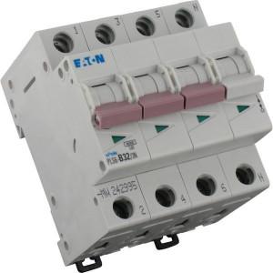Eaton Installatie-autom. 32A,3P+N,B - PLS6B323N