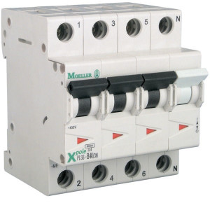 Eaton Installatie-autom. 40A,3P+N,B - PLS6B403N