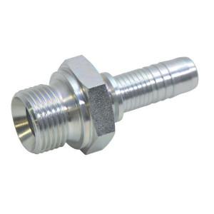 Alfagomma Pilaar DN10-1/2 BSP Box 25 pcs - PN108P025 | Grootverpakking | Gunstig geprijsd | ISO 228 / ISO 8434-6 | -60 °