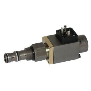 Walvoil 3-Weg stroomregelventiel patroon - PP10WB20B | 46 mm | 12 DC V | CP10-3 | 50 l/min | 210 bar | 18 l/min | 35 40 Nm
