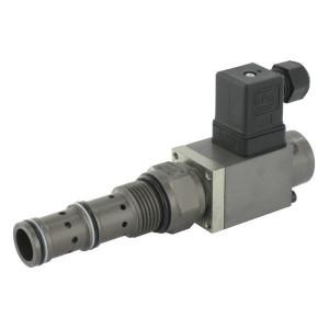 Walvoil 3-Weg stroomregelventiel patroon - PP12WA40B | 169 mm | 73.5 mm | 24 DC V | CP12-3 | 90 l/min | 210 bar | 50 l/min | 70 75 Nm