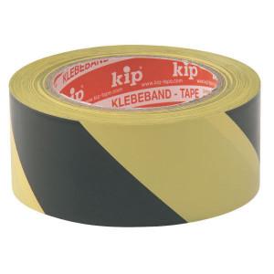 Kip Tape PVC Zwart/geel 33m - PP33957 | Zwart / geel