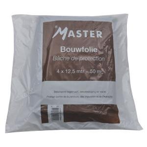 Bouwfolie 4x12,5 m 0,05 mm dik - PP395   Polyethyleen   12,5 m   0,05 mm