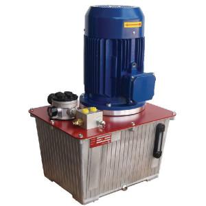 Aggregaat PP, 30ltr,6.5cc,3kW - PP85A001 | Lange levensduur | 30 l ltr. | 9,2 l/min | 175 bar | 400Volt AC | 6,5 cc/omw | 3 kW | 491 x 341 x 635 mm