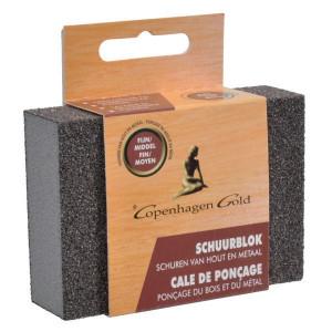 Copenhagen Gold Schuurspons middel/grof Profi - PP95008