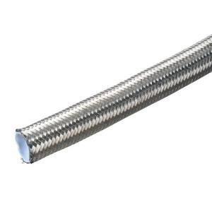 Dicsa Hydrauliekslang DN13 RVS - PTFE1DN13 | AISI-304 | 120 bar | 12 MPa | 70 mm | 0,7 mm | 0,212 kg/m | 1/2 Inch | 12,7 mm | 15,7 mm | SFD-12-PTFE-13-RVS | 20,5 mm