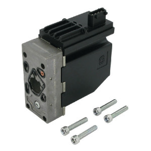 Danfoss Magn. PVEO On/Off 12 V (AMP) - PVG32157B4901   157B4901   Robuuste uitvoering   Bedrijfszeker   12 V   aan/uit met AMP-connector