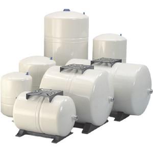 "DAB Pumps Membraanvat Pressure Wave staal 60 l, horiz. - PWB60H | 5 jaar garantie | 10 bar | 1"" G Inch | Horizontaal | 12,8 kg | 60 l | 528 mm | 414 mm"