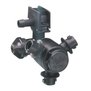 TeeJet Dophouder met 3 dopaansluiting - QJ363C5001NYB | 1/2 Inch | 12,7 mm