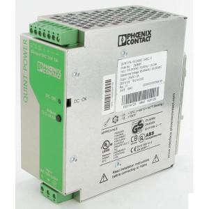 Phoenix Contact Voeding 100-240VAC 5A Phoenix - QUINTPS100240AC24DC5 | 55x130x125 mm | 100 ... 240V AC V | 85V AC ... 264V AC V | 90V .... 350V DC | 45 ... 65Hz Hz | 24V DC +/1% V | 22,5 ... 28,5 V