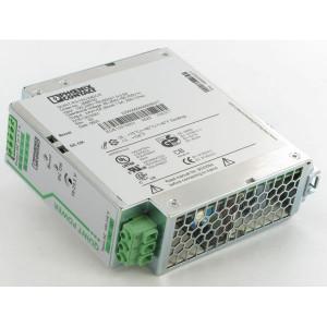 Phoenix Contact Voeding 100-240VAC 10A Phoenix - QUINTPS1AC24DC10 | 1.100 g | 60x130x125 mm | 100 ... 240V AC V | 85V AC ... 264V AC V | 90V .... 350V DC | 45 ... 65Hz Hz | 24V DC +/1% V | 18 V .... 29,5V DC V