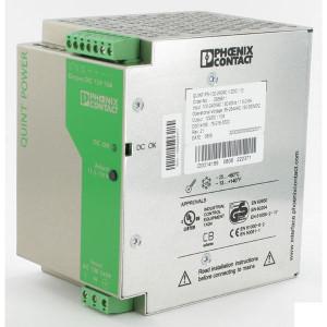 Phoenix Contact Voeding 100-240VAC 2,5APhoenix - QUINTPS230AC24DC25 | 55x130x125 mm | 100 ... 240V AC V | 85V AC ... 264V AC V | 90V .... 350V DC | 45 ... 65Hz Hz | 24V DC +/1% V | 22,5 ... 28,5 V