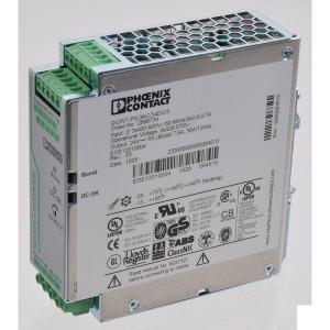 Phoenix Contact Voeding 3x400-500VAC 5APhoenix - QUINTPS3AC24DC5 | 40x130x125 mm | 3x 400 ... 500V AC V | 320V AC ...575V AC V | 450V DC ... 800V DC | 45 ... 65Hz Hz | 24V DC +/1% V | 18 V .... 29,5V DC V