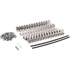 Set riemverbinders (2) 170 mm - RBBMS251702RVS | 180 mm | 3,5 7,5 mm | 650 N/mm² N/mm² | 170 mm | 170 mm | RVS met nylon mantel