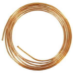 Koperen remleiding 6 mm 5 m - RL06005 | Voor olieremsystemen | 6 mm