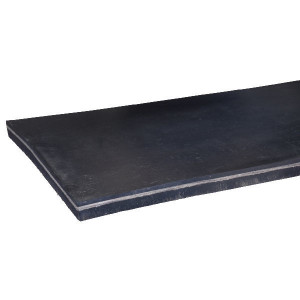 Rubber met canvas inlage - RPN32040 | Rubber omkeer. | Systeem rubbermat | 35 40 mm | 3200 mm | 400 mm