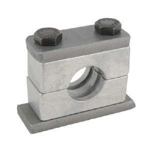 Alu leidingklem cpl. C1 8mm - RS108Z | Geribd binnenvlak | Aluminium | DIN 3015/2 | 300° C °C | 150 N/mm² N/mm² | 32 mm | DIN 931 M 10 x 45