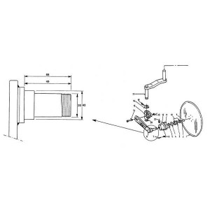 Rumptstad Frame voor kouterschijf - RS17566