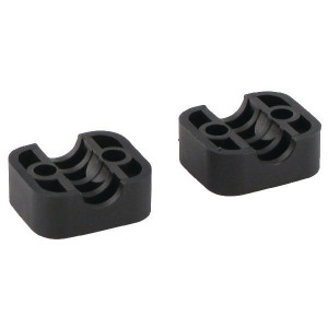Stauff Klemhelften PA A1 8mm - RS911108PA | Geprofileerd binnen | Goede UV-bestendigheid | Lange levensduur | 2 helften (1 paar) | Polyamide (PA) | 8 mm | 34 mm | 20 mm