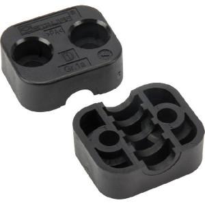Stauff Klemhelften PA A1 10mm - RS911110PA | Geprofileerd binnen | Goede UV-bestendigheid | Lange levensduur | 2 helften (1 paar) | Polyamide (PA) | 10 mm | 34 mm | 20 mm