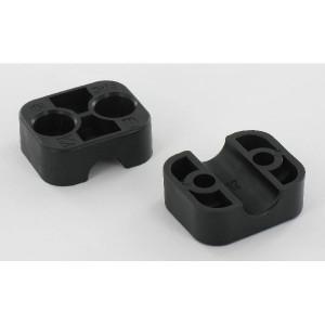 Stauff Klemhelft zwart glad A1 12 mm - RS911112PAG | Gladde binnenkant | Goede UV-bestendigheid | Lange levensduur | 2 helften (1 paar) | Polyamide (PA) | 12 mm | 34 mm | 26,4 mm | 20 mm