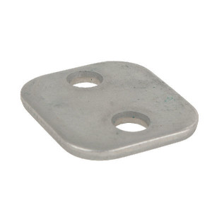 Stauff Dekplaat enkel staal A4 - RS9214 | DIN3015/1