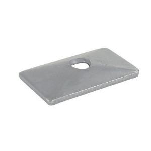 Stauff Dekplaat dubbel B4 (1) - RS9224P001 | DIN 3015/3