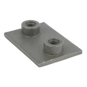 Stauff Aanlasplaat enkel staal A5 - RS9315