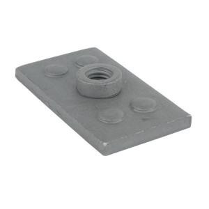 Aanlasplaat dubbel staal A5 - RS9325 | 110 mm