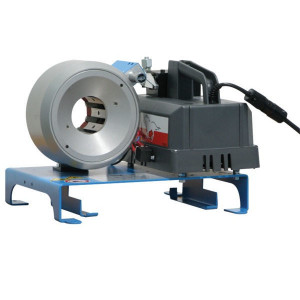 Uniflex Slangenpers cpl. 24V - S21DC24V | Mobiel in te zetten | RAL 5012 blauw | 24 V DC | 900 kN