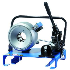 Uniflex Slangenpers cpl. - S21M | RAL 5012 blauw | Handpomp | 900 kN