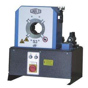 Uniflex Slangenpers cpl. - S3ECO | 150 kg | RAL 5012 blauw | 1.200 kN