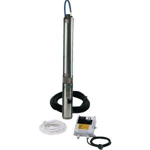 DAB Pumps Bronpomp S4E 400V - S4E12T | 0 / +40 °C °C | 97 mm | 400 V | 11,4 m³/h m³/h | 81 m | 2G Inch | 30 m | 1,5 / 2 kW/HP | ESC 4 T