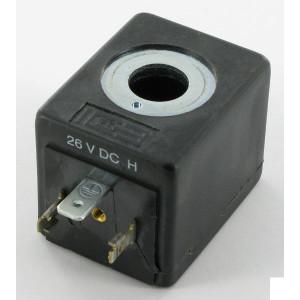 Bosch Rexroth Spoel S8H 26VDC (SP666) - S8H24VDCM | 20 W | IP54 / IP67 IP | 35.5 mm | 12,7 mm | 0.8 / 0.5 A | 180 °C | 26VDC V | 12.7 mm