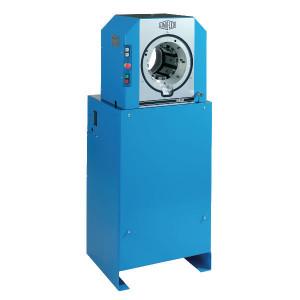 Uniflex Slangenpers cpl. - S8I | 390 kg | RAL 5012 blauw | Elektromotor 4 kW | 239L, 237L | 2.200 kN