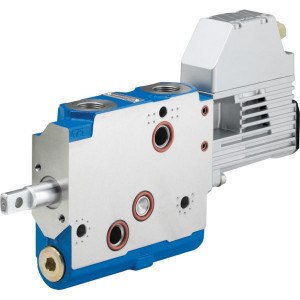 Bosch Rexroth 5/4 ventiel SB23 elektr./hydr. - SB23EHS24 | R917007219 | AGCO Fendt | 250 bar | 100 l/min | M22 x 1.5 | max. 288 x 40 x 138 | Electro-hydraulic