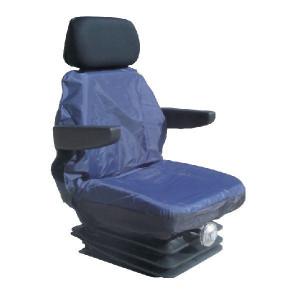 Bekledingshoes trekker std. blauw - SC60102 | bestuurder | Trekker standaard