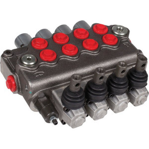Walvoil Stuurventiel 18-18-18-18 AET - SD114001   3 cm³/min   -20 +80   315 bar   Nitrilrubber (NBR)   Inbusschroef   60 l/min   70 l/min   1/2 BSP   120 220 bar   1-8/1-8/1-8/1-8