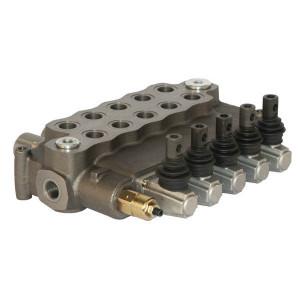 Walvoil Stuurventiel 18-18-18-18-18 AET - SD185001 | 4 cm³/min | -20 +80 | 250 bar | Nitrilrubber (NBR) | Inbusschroef | 160 l/min | 120 220 bar | 1-8/1-8/1-8/1-8/1-8