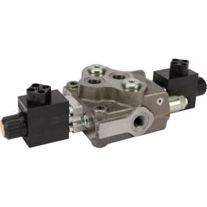 Walvoil Stuursch SD5/1-G3-18ES3-12Vdc - SD51017 | Nitrilrubber (NBR) | 315 bar | -20 +80 | 3 cm³/min
