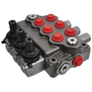 Walvoil Stuurventiel 18-18-18L AET - SD53001 | -20 +80 | Nitrilrubber (NBR) | 315 bar | 3 cm³/min | Inbusschroef | 45 l/min | 1-8/1-8/1-8