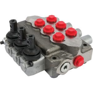 Walvoil Stuurventiel 3x28 AET gevlakt - SD53003 | 3 cm³/min | Nitrilrubber (NBR) | 315 bar | -20 +80 | Inbusschroef | 45 l/min | 50 220 bar | 2-8/2-8/2-8