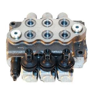 Walvoil Stuurventiel 38-38-38 L-AET - SD53005 | 3 cm³/min | Nitrilrubber (NBR) | 315 bar | -20 +80 | Inbusschroef | 45 l/min | 3-8/3-8/3-8