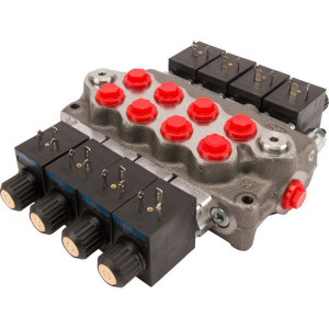 "Walvoil SD5/4JG3-4x28ES3-AE-24VDC - SD54005 | Nitrilrubber (NBR) | 315 bar | -20 +80 | 3 cm³/min | Inbusschroef | 45 l/min | 25 bar | 4 x 2-8 ES3 | 8.35 kg | 45 l/min | 50 … 200 bar | 315 bar | G 3/8"" Inch | 2 (x4) | 12 … 400 cSt | G 3/8"" BSP Inch | G"