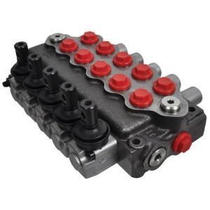 Walvoil Stuurventiel 5x18L AET - SD55001 | 315 bar | 3 cm³/min | -20 +80 | Nitrilrubber (NBR) | Inbusschroef | 45 l/min | 120 220 bar | 1-8/1-8/1-8/1-8