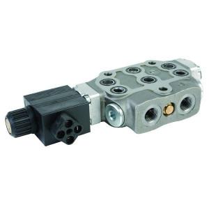 "Walvoil Sectie SD6/1-28ES 12V - SD6128ES112VDC | 45 l/min | 315 bar | 3/8"" BSP | 12 VDC V"