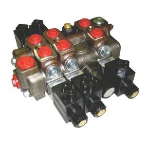 Walvoil Stuurventiel 3-voud 12VDC - SD63EVP312V | 12 (DC) V | 60 l/min | 3/8 BSP | 350 bar | 100 200 bar
